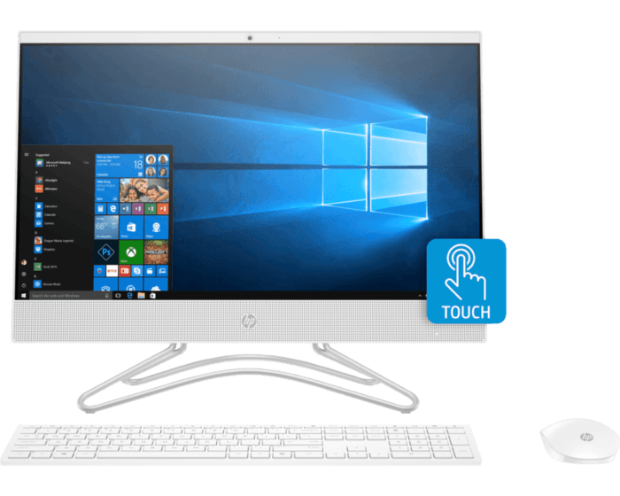 HP 22-c0159d All-in-One PC  5QC56AA
