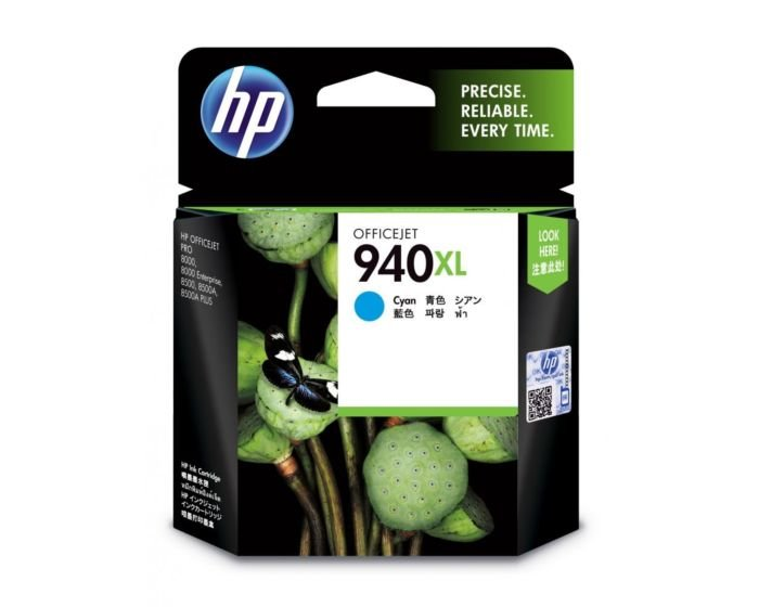 HP 940XL High Yield Cyan Original Ink Cartridge