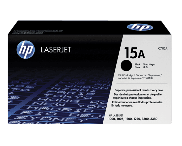 HP 15A Black Original LaserJet Toner Cartridge
