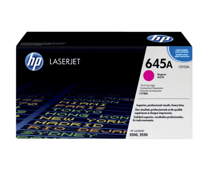 HP 645A Magenta Original LaserJet Toner Cartridge