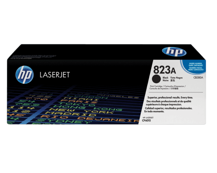 HP 823A Black Original LaserJet Toner Cartridge