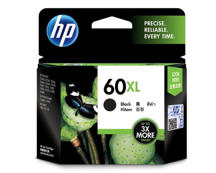 HP 60XL High Yield Black Original Ink Cartridge