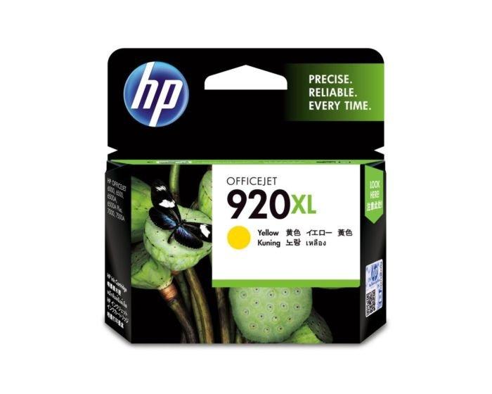 HP 920XL High Yield Yellow Original Ink Cartridge