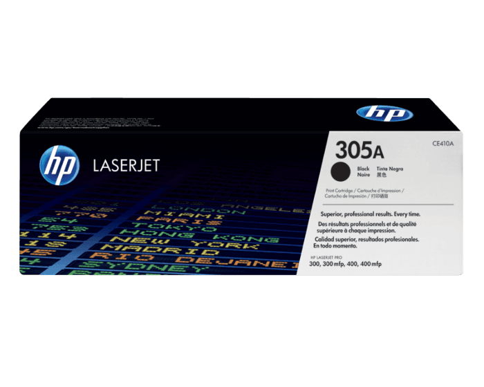 HP 305A Black Original LaserJet Toner Cartridge