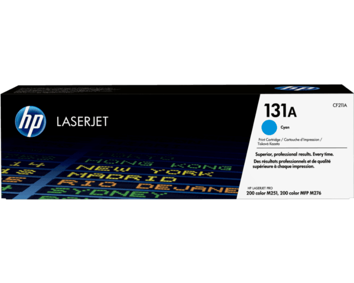 HP 131A Cyan Original LaserJet Toner Cartridge
