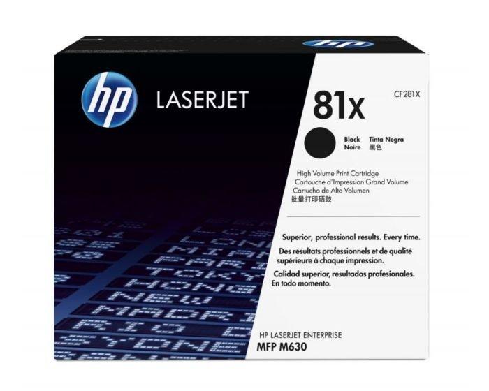 HP 81X High Yield Black Original LaserJet Toner Cartridge