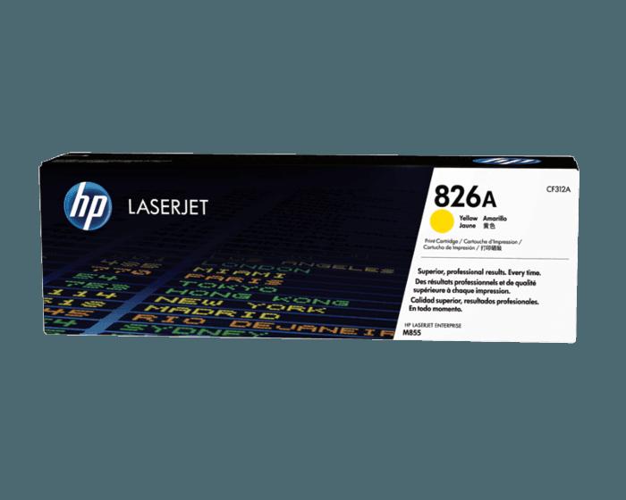 HP 826A Yellow Original LaserJet Toner Cartridge