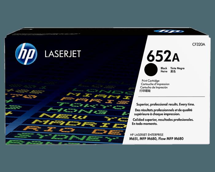 HP 652A Black Original LaserJet Toner Cartridge