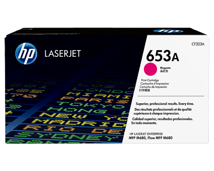 HP 653A Magenta Original LaserJet Toner Cartridge