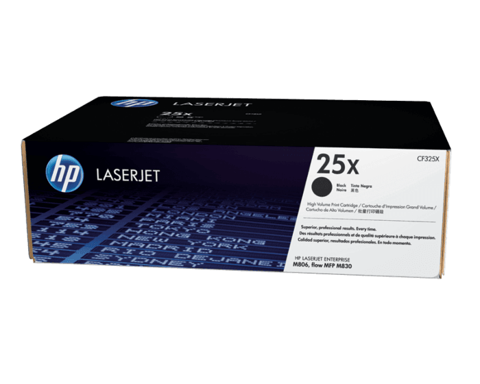 HP 25X High Yield Black Original LaserJet Toner Cartridge