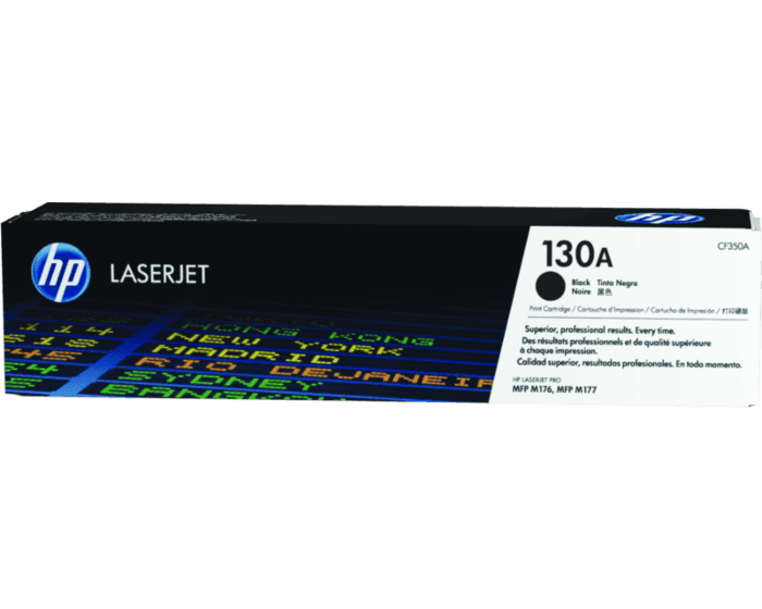 HP 130A Black Original LaserJet Toner Cartridge