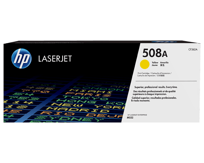 HP 508A Yellow Original LaserJet Toner Cartridge