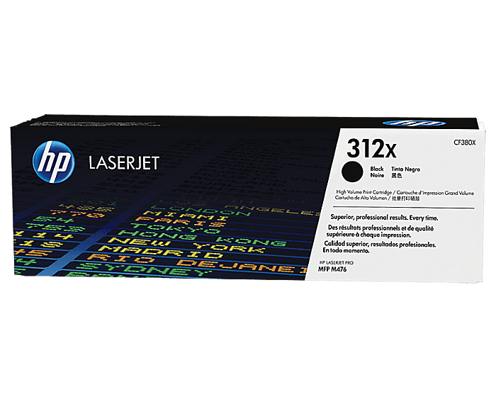 HP 312X High Yield Black Original LaserJet Toner Cartridge