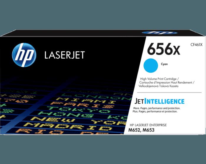HP 656X High Yield Cyan Original LaserJet Toner Cartridge