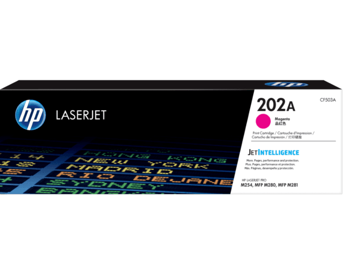 HP 202A Magenta Original LaserJet Toner Cartridge