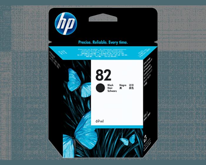 HP 82 69-ml Black DesignJet Ink Cartridge