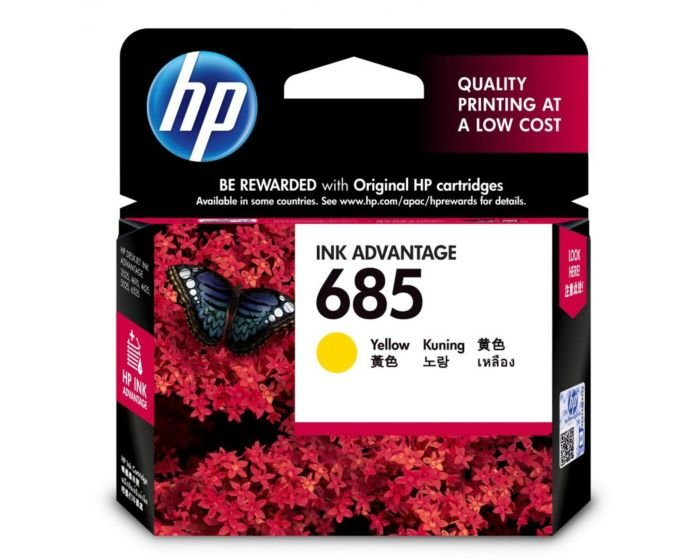 HP 685 Yellow Original Ink Advantage Cartridge