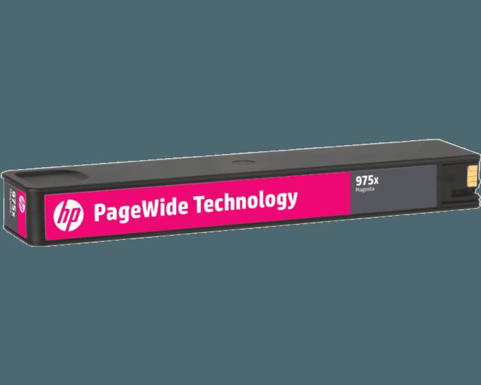 HP 975X High Yield Magenta Original PageWide Cartridge