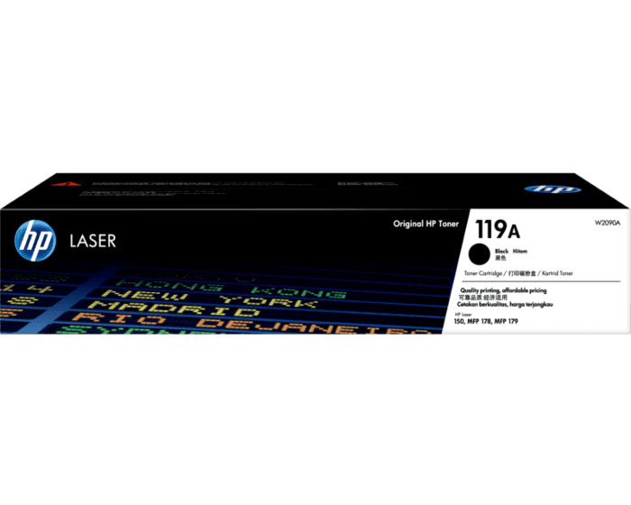 HP 119A Black Original Laser Toner Cartridge