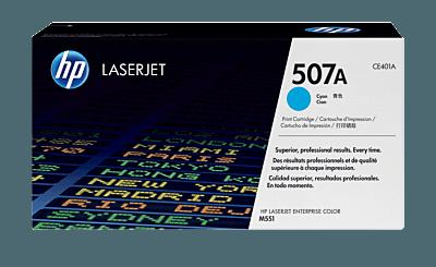 HP 507A Cyan Original LaserJet Toner Cartridge