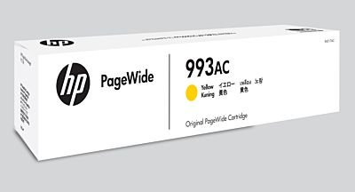 HP Yellow Contract Original PageWide Cartridge