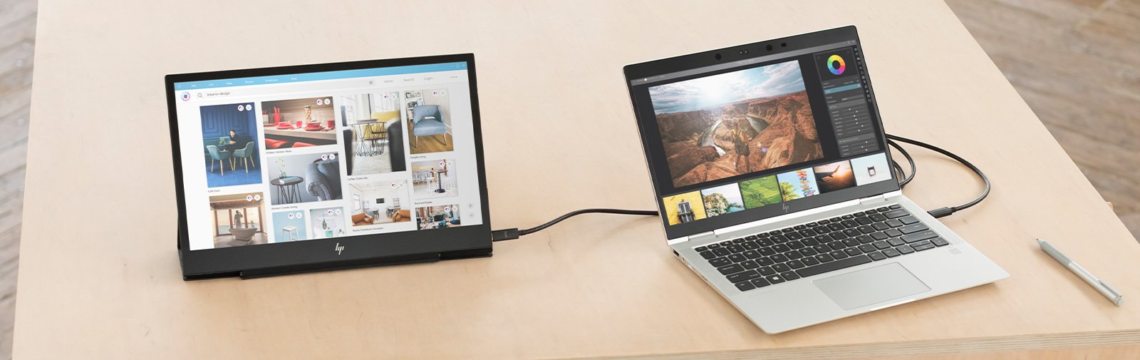 How to Set Up a Portable External Monitor for Your Laptop