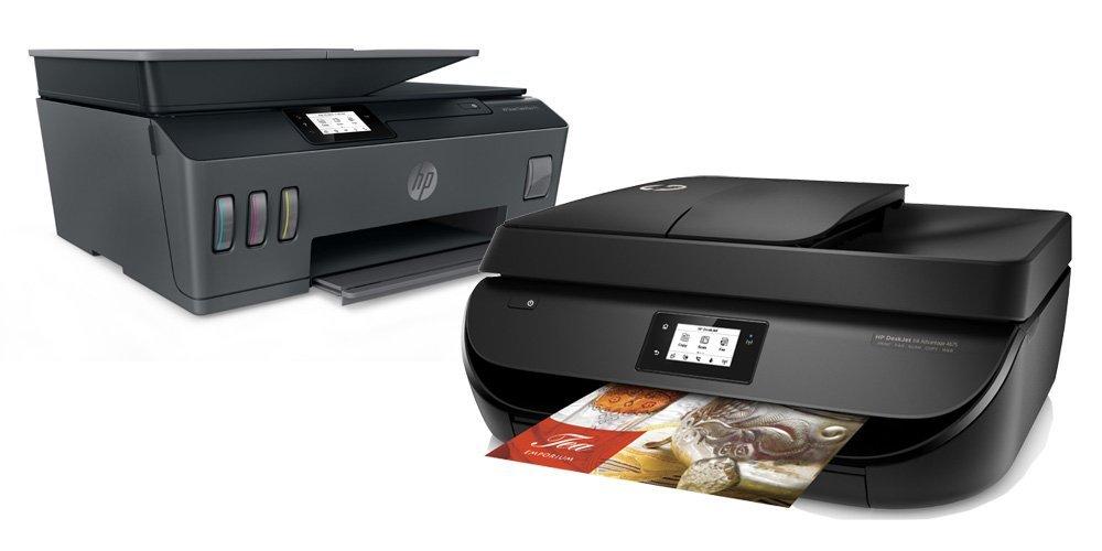 เครื่องพิมพ์ HP Inkjet และ LaserJet สำหรับใช้ในบ้านและสำนักงาน