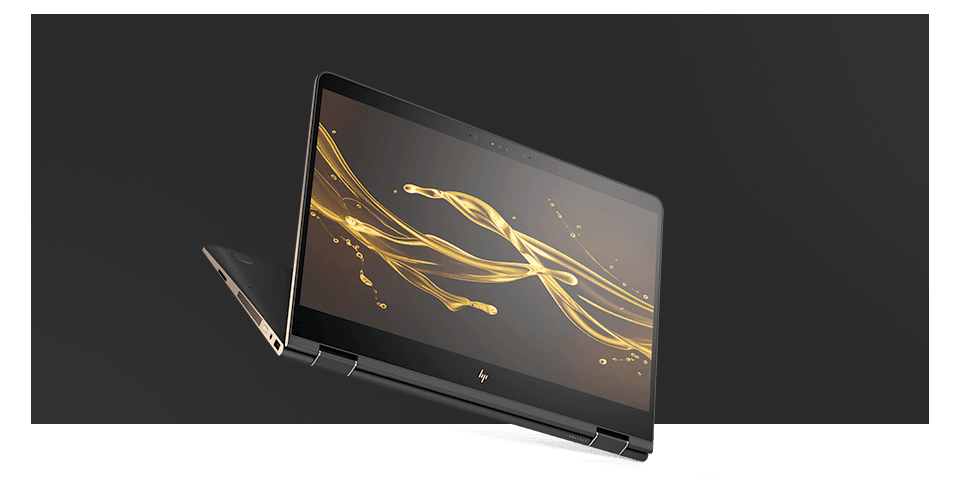 HP SPECTRE x360 โหมดแล็ปท็อป